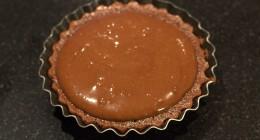 Tarte fondante au Chocolat crue et cuite