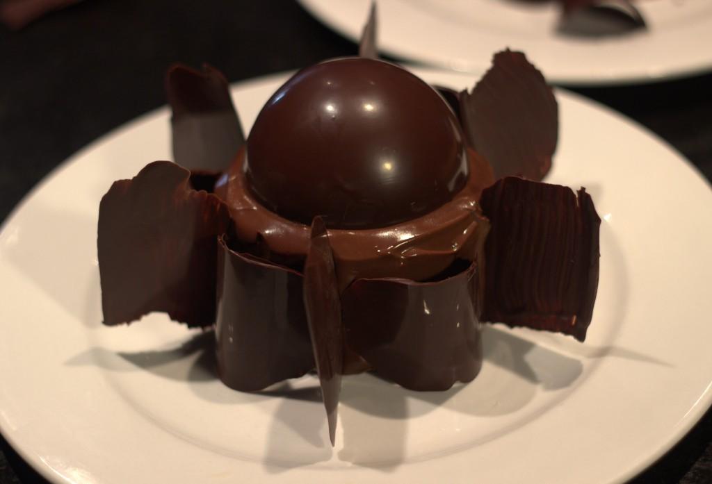 Gâteau tout en Chocolat autre présentation