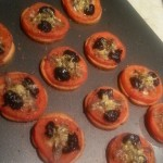Crostini Bruschetta de Tomates comme une Mini-Pizza