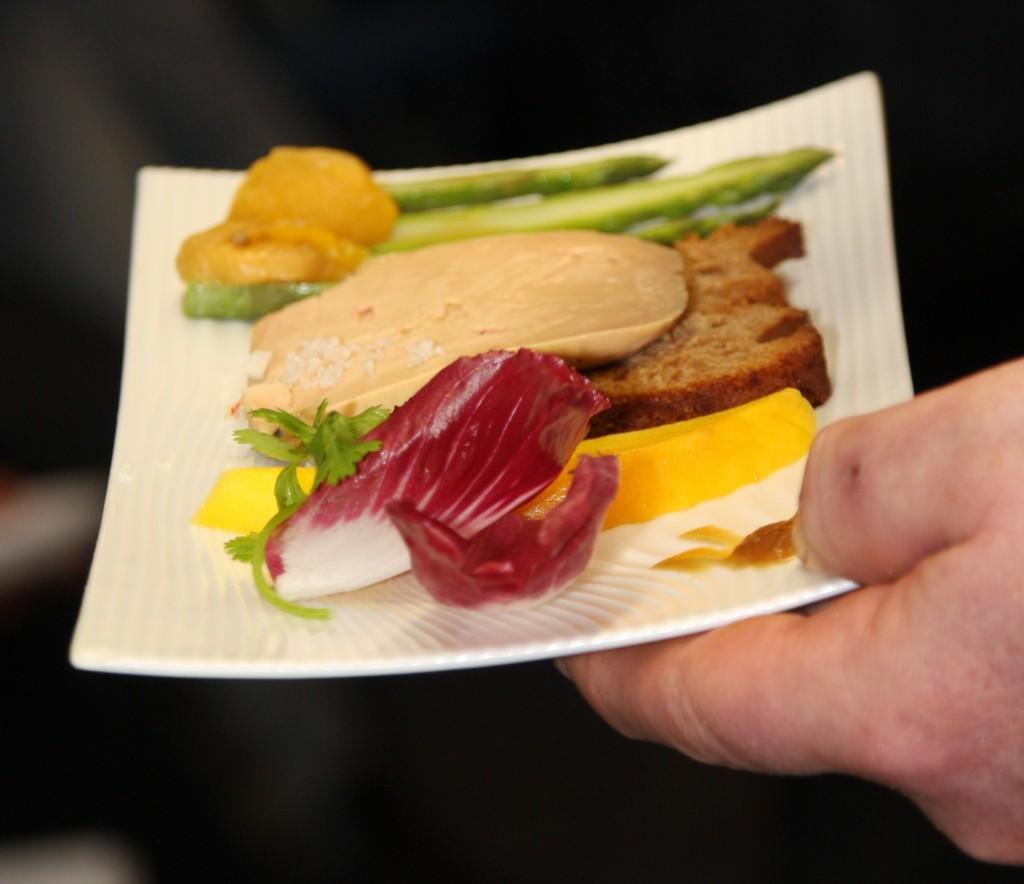 Foie gras aux Epices en Variations de gouts