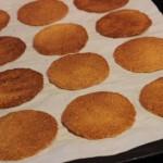 Galettes cuites-