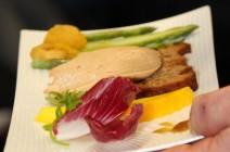 foie gras aux épices en déclinaison de goûts