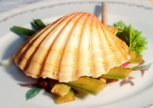 Coquille St Jacques en surprise