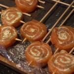 Sucettes de Saumon gravlax