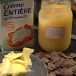 Glaçage noir fondant au miel Ingrédients