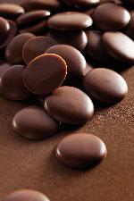 Chocolat couverture en pistoles