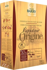 Chocolat couverture noir Equateur-Barry
