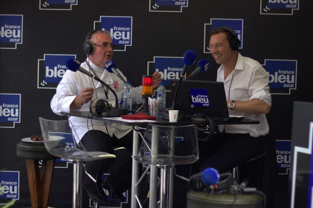 Etoiles de Mougins France Bleu Dimanche 21 Septembre 2014