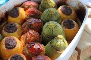 légumes farcis à la fortune du pot