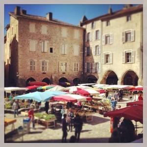 Marché de Villefranche de Rouergue chaque jeudi