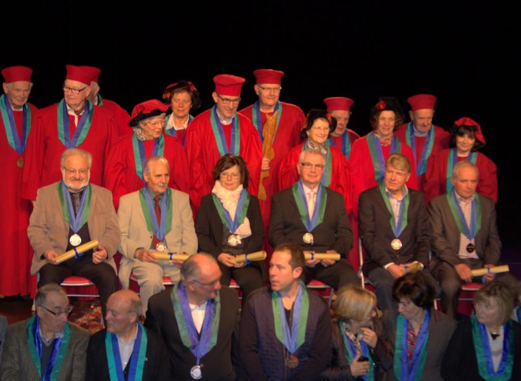 Intronisation Confrérie de l'Estofi 8 3 2015