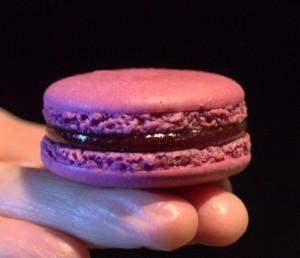 Macaron framboise myrtille